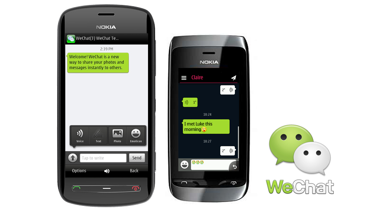 wechat free download mobile nokia