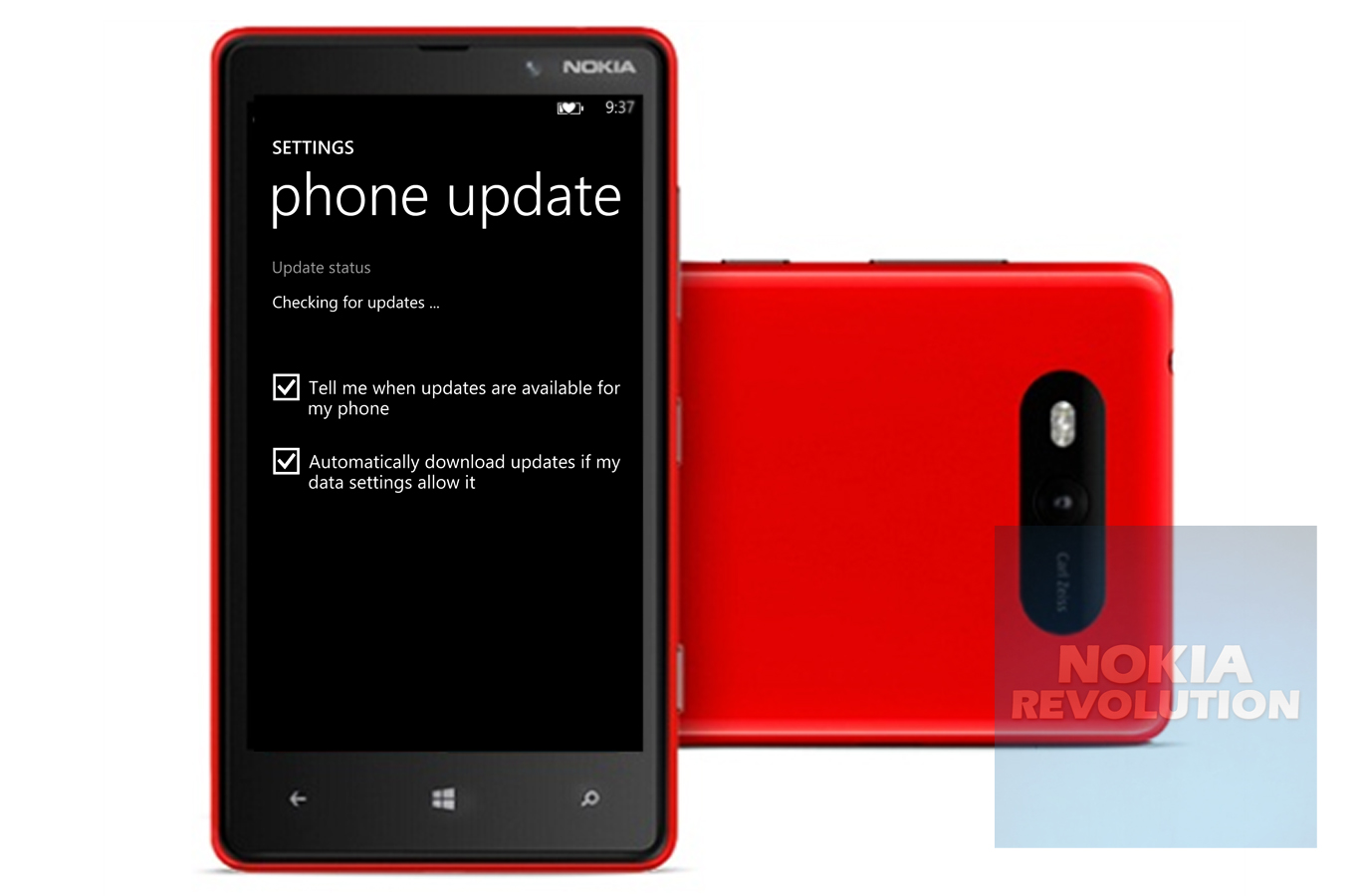 Lumia 820 At Amp T Variant Gets A Software Update